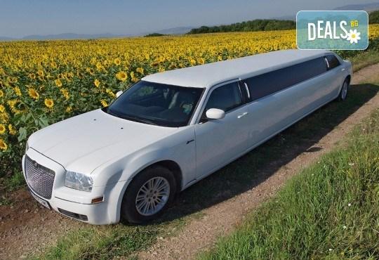 Лимузина с Дядо Коледа! За Вашето пътуващо коледно парти, 1 час за 8-14 пасажера плюс подарък бутилка вино и лукс чаши от San Diego Limousines - Снимка 9