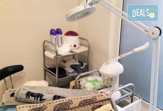 За скъпоценно излъчване! Златна терапия за лице с ултразвуково почистване, златна маска и ампула в студио Нова - Снимка 10