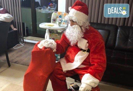 Видео обръщение - поздрав от Дядо Коледа - поимено за деца, за цели семейства, за фирми с индивидуален текст от Парти агенция ИВОНИ - БАРБАРОНИ - Снимка 5