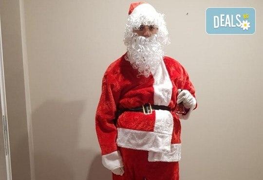 Видео обръщение - поздрав от Дядо Коледа - поимено за деца, за цели семейства, за фирми с индивидуален текст от Парти агенция ИВОНИ - БАРБАРОНИ - Снимка 4