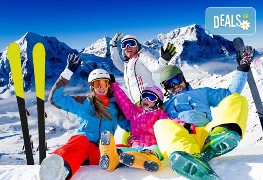 На ски в Боровец! Еднодневен наем на ски или сноуборд оборудване за възрастен или дете от Ски училище Hunters - Снимка 1