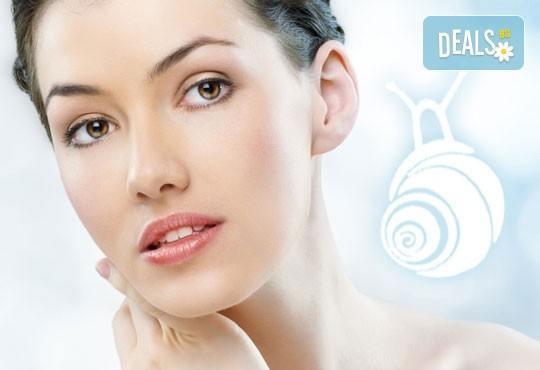 Дълбоко почистване на лице в 10 стъпки и нанасяне на маска от охлюви с изглаждащ и възстановяващ ефект в студио Relax Beauty&Spa - Снимка 1