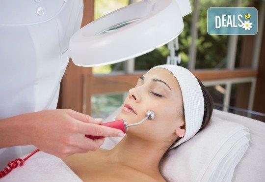 Подмладяващо почистване на лице с механична екстракция, дермабразио, ултразвук, RF лифтинг и серуми, от Esthetic Center Adoree - Снимка 1
