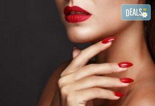 Дълготраен маникюр с гел лак Bluesky от Orenda111 Beauty Center - Снимка 2