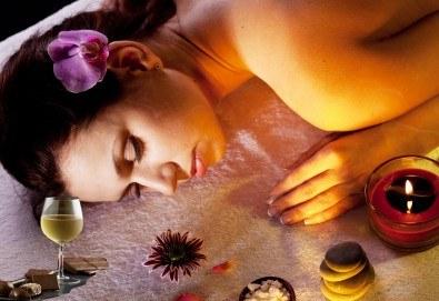 Подарете с любов! Пакет от два масажа цяло тяло по избор плюс чаша вино и шоколадово изкушение в Масажно студио Спавел - Снимка