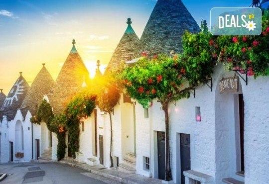 Южна Италия! 3 нощувки със закуски в хотел 3* и транспорт от България Травъл