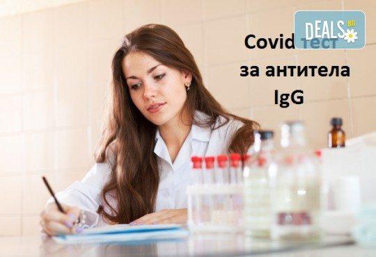 Covid тест за антитела IgG от Лаборатории Кандиларов - Снимка 1