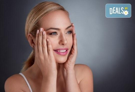 Радиочестотен лифтинг за дълбока хидратация и намаляване на фините линии на лице или лице и шия в Салон Каприз - Снимка 1