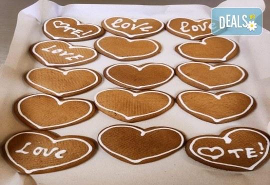 300 гр. медени сърца за месеца на любовта от Сладкопекарна МЕДЕН ХЛЯБ - Снимка 5