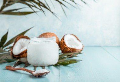 Подарете с любов! 120 минути магично кокосово изкушение за влюбени двойки с пилинг, масаж и Hot Stone терапия в център Green Health - Снимка