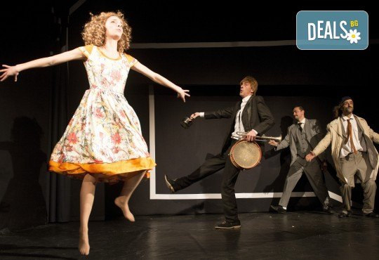 Хитовата комедия на Теди Москов Аз обичам, ти обичаш, тя обича на 7-ми март (неделя) в Малък градски театър Зад канала - Снимка 3