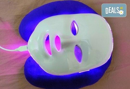 Фотодинамична лифтинг терапия за лице с LED маска, ензимен пилинг и подмладяващи лифтинг серуми от Esthetic Center Adoree - Снимка 6
