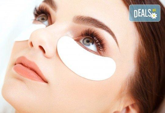 Красиви очи! Удължаване и сгъстяване на мигли по метода косъм по косъм в Салон за красота Bellisima - Снимка 3