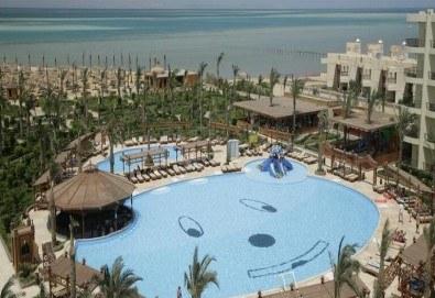 Гореща оферта за Египет от Караджъ Турс! 7 нощувки на база All Inclusive в Hawaii le Jardin Aqua Park 5*, Хургада, самолетен билет с директен чартърен полет и трансфери - Снимка