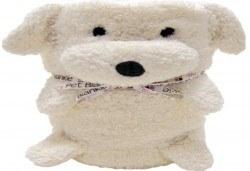 Забавно и топло! My Pet Blankie 3в1- одеяло, възглавница, плюшена играчка - бяло куче от Toys.bg - Снимка