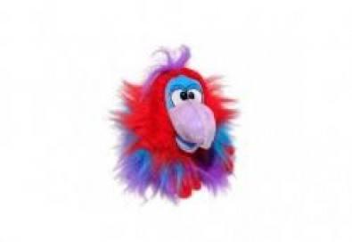 Вземете лилав плюшен говорещ папагал от Toys.bg! - Снимка