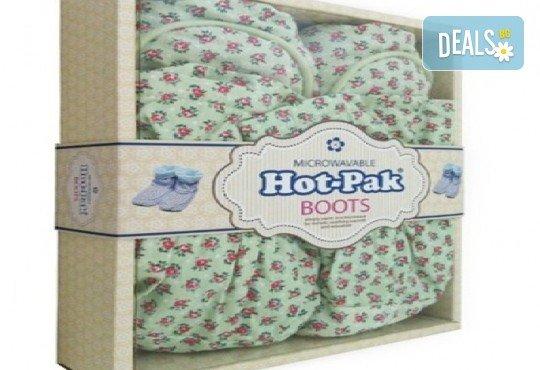 Плюшени нагряващи се Ботуши зелени (36-40) Hot Pack Boots Green от Intelex от Toys.bg - Снимка 2