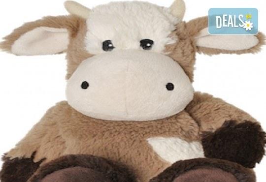 Топличка играчка ! Нагряваща се крава KUH от Warmies от Toys.bg - Снимка 1