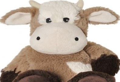 Топличка играчка ! Нагряваща се крава KUH от Warmies от Toys.bg - Снимка