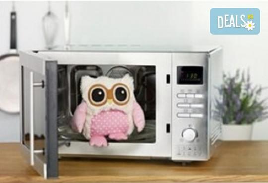 Топличка играчка! Нагряващо се Розово Бухалче от Warmies от Toys.bg - Снимка 3