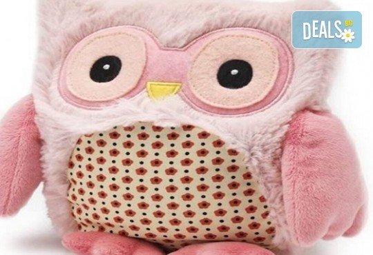 Топличка играчка! Нагряващо се Розово Бухалче от Warmies от Toys.bg - Снимка 1