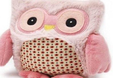 Топличка играчка! Нагряващо се Розово Бухалче от Warmies от Toys.bg - Снимка