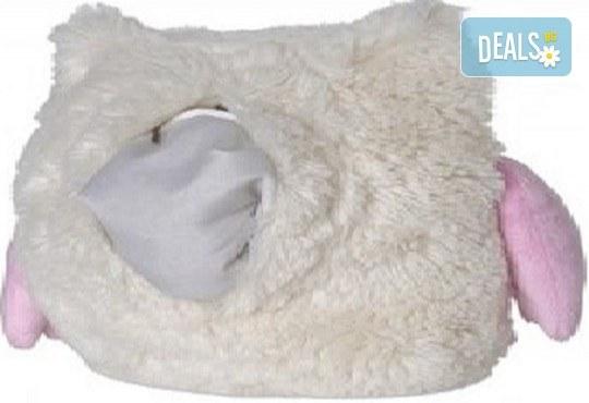 Плюшенa нагряващa се и охлаждащa се възглавница овца от Warmies от Toys.bg - Снимка 3