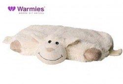Плюшенa нагряващa се и охлаждащa се възглавница овца от Warmies от Toys.bg - Снимка