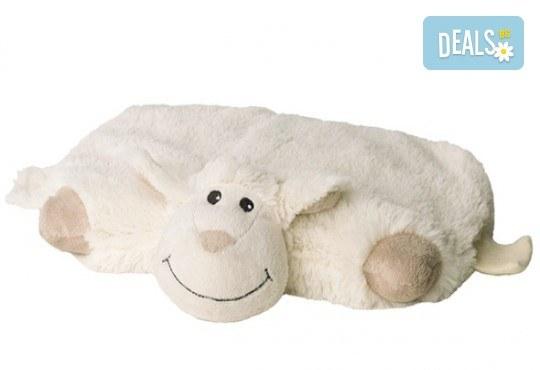 Плюшенa нагряващa се и охлаждащa се възглавница овца от Warmies от Toys.bg - Снимка 2