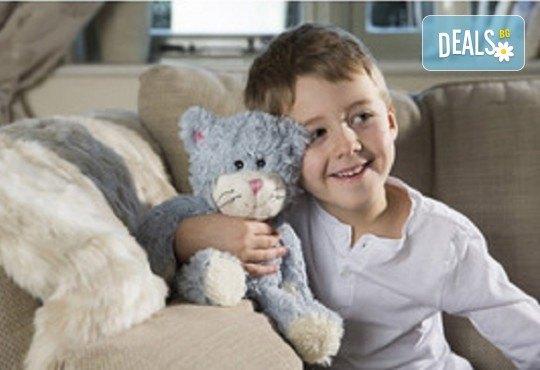 Плюшенa нагряващa се Котка Cozy Plush Cat от Warmies от Toys.bg - Снимка 3