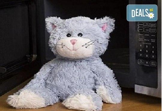 Плюшенa нагряващa се Котка Cozy Plush Cat от Warmies от Toys.bg - Снимка 1