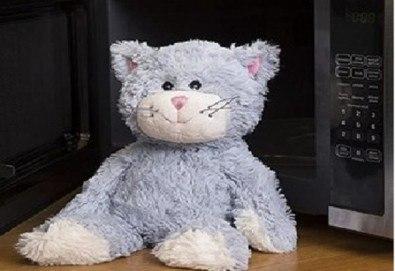 Плюшенa нагряващa се Котка Cozy Plush Cat от Warmies от Toys.bg - Снимка