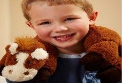 Плюшен нагряващ се Шал Кон Cozy Wrap Horse от Toys.bg - Снимка