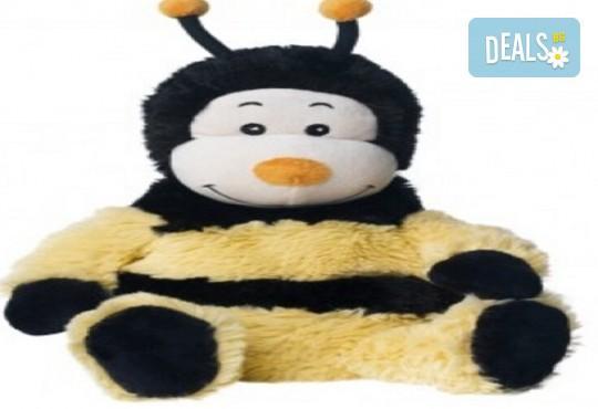 Плюшена нагряваща се Пчеличка от Warmies от Toys.bg - Снимка 1