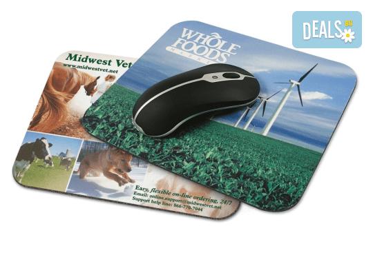 Подарък за приятел! Подложка за мишка с Ваша снимка и надпис от Офис 2 - Снимка 1