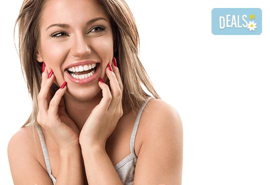 За искряща усмивка! Почистване на зъбен камък, полиране на зъбите и преглед в Дентален кабинет д-р Снежина Цекова - Снимка 2