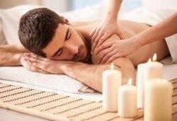 Подарете с любов! Подаръчен ваучер Спа ден за Него: 100 минути дълбокотъканен масаж, тай масаж, зонотерапия и релаксиращ масаж на скалп в Спа център Senses Massage & Recreation - Снимка
