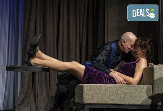 На 28-ми април (сряда) гледайте Кой се бои от Вирджиния Улф с Ирини Жамбонас, Владимир Зомбори, Каталин Старейшинска и Малин Кръстев в Малък градски театър Зад канала - Снимка 3