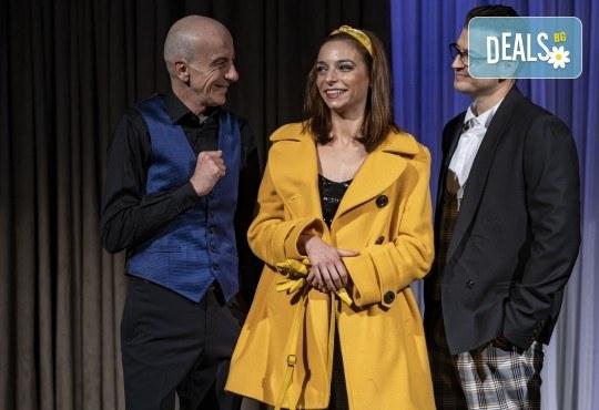 На 28-ми април (сряда) гледайте Кой се бои от Вирджиния Улф с Ирини Жамбонас, Владимир Зомбори, Каталин Старейшинска и Малин Кръстев в Малък градски театър Зад канала - Снимка 1