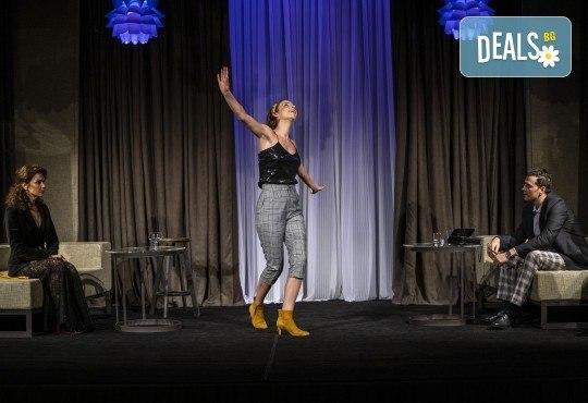На 28-ми април (сряда) гледайте Кой се бои от Вирджиния Улф с Ирини Жамбонас, Владимир Зомбори, Каталин Старейшинска и Малин Кръстев в Малък градски театър Зад канала - Снимка 10