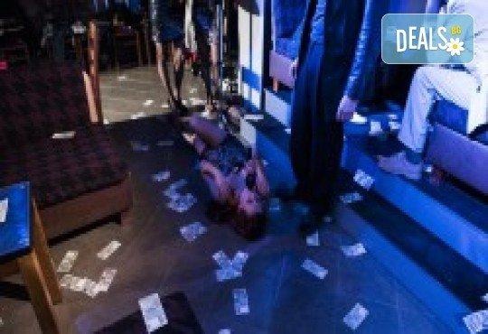 Комедията Поп фолк хроники: бели птици и куршуми на 11-ти април (неделя) в клуб-фоайе При жабите в Малък градски театър Зад канала - Снимка 22