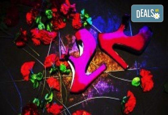 Комедията Поп фолк хроники: бели птици и куршуми на 11-ти април (неделя) в клуб-фоайе При жабите в Малък градски театър Зад канала - Снимка 6