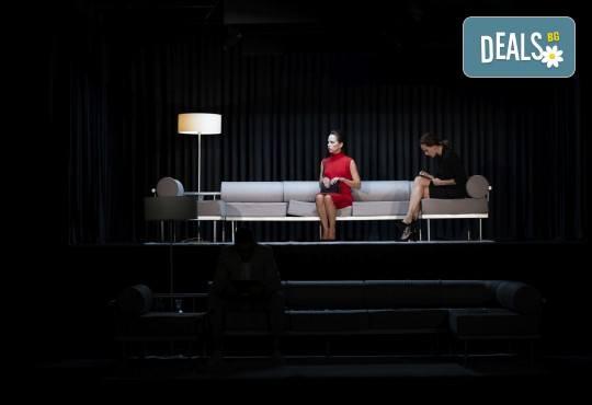 Гледайте Весела Бабинова, Христо Пъдев и Анастасия Лютова в Сцени от един семеен живот на 25-ти април (неделя) в Малък градски театър Зад канала - Снимка 6