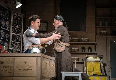 Гледайте Асен Блатечки и Малин Кръстев в постановката Зимата на нашето недоволство на 28-ми май (петък) в Малък градски театър Зад канала - Снимка