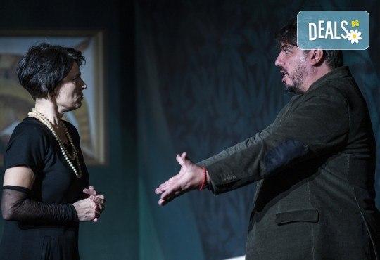 Гледайте комедията Стриптийз покер с Герасим Георгиев-Геро и Малин Кръстев на 12-ти май (сряда) в Малък градски театър Зад канала - Снимка 1