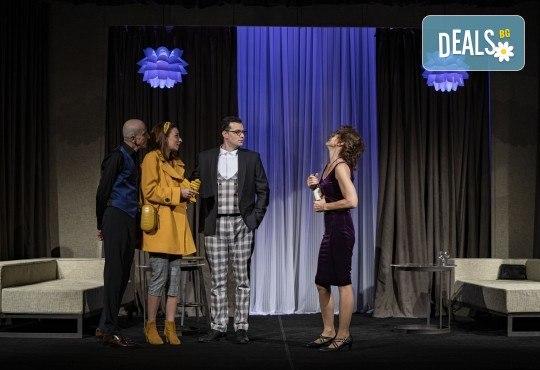 На 13-ти май (четвъртък) гледайте Кой се бои от Вирджиния Улф с Ирини Жамбонас, Владимир Зомбори, Каталин Старейшинска и Малин Кръстев в Малък градски театър Зад канала - Снимка 5