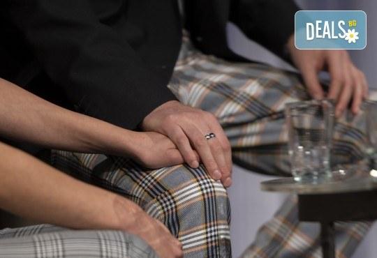 На 13-ти май (четвъртък) гледайте Кой се бои от Вирджиния Улф с Ирини Жамбонас, Владимир Зомбори, Каталин Старейшинска и Малин Кръстев в Малък градски театър Зад канала - Снимка 7