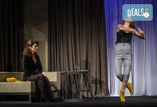 На 13-ти май (четвъртък) гледайте Кой се бои от Вирджиния Улф с Ирини Жамбонас, Владимир Зомбори, Каталин Старейшинска и Малин Кръстев в Малък градски театър Зад канала - Снимка 9