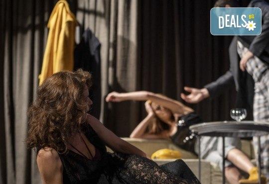 На 13-ти май (четвъртък) гледайте Кой се бои от Вирджиния Улф с Ирини Жамбонас, Владимир Зомбори, Каталин Старейшинска и Малин Кръстев в Малък градски театър Зад канала - Снимка 13