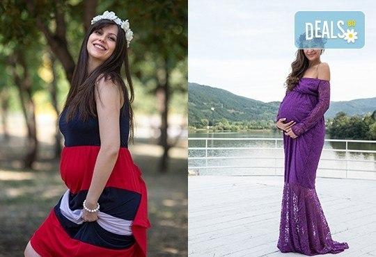 Лято е! Фотосесия за бременни на открито с включени аксесоари и рокли + обработка на всички заснети кадри, от Chapkanov photography - Снимка 16